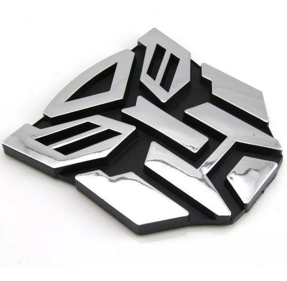 Transformers Adesivo Emblema Tuning Carro Autobot 8cm Pvc