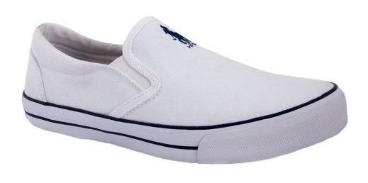 Tenis Casual Hpc Polo 941 Blanco Comodo 100% Original 171820