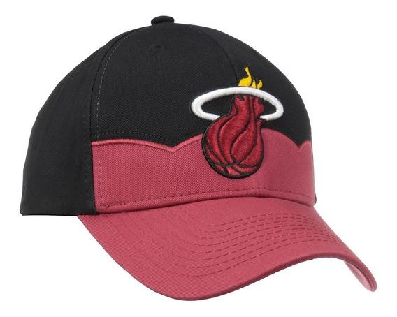 Gorra adidas Miami Heat Nba Structured Ajustable Importada