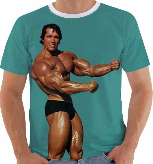Camisa Ou Regata 1028 Arnold Schwarzenegger Fisiculturista