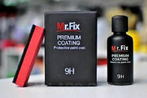 Sellador Cerámico 9h Mr Fix Vidrio Liquido50 Ml + Microfibra
