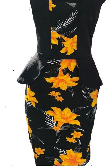 Vestido Feminino Tubinho Midi Social Moda Evangélica