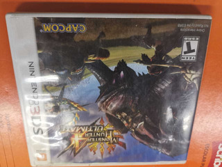 Monster Hunter 4 Ultimate Nintendo 3ds