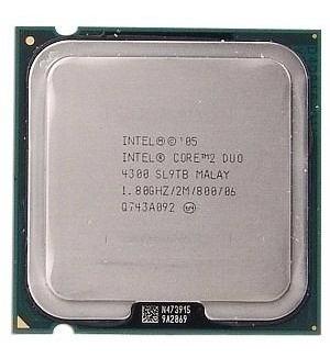 Intel Core2duo E4300 1,8ghz 775 Com Cooler Original