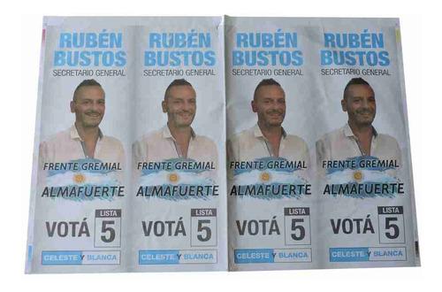 Afiches De Papel 41x59cm X 1000u Impresos Offset 1 Color
