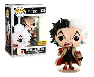 Funko Pop Disney Villains Cruella De Vil 736 Hot Topic
