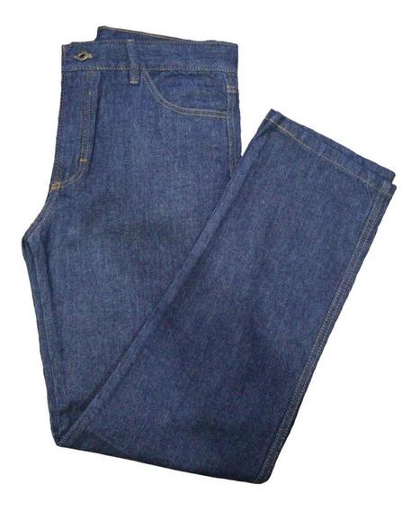 Calça Jeans Masculina Confortável Serviço Trabalho