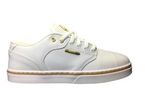 Tênis Hocks Montreal White/gold Branco/dourado - Original