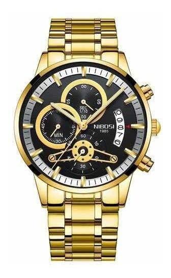 Relógio Nibosi Original Anti Risco 100% Funcional