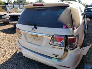 Tampa Traseira Toyota Hilux Sw4 2012 2014 2015 Original