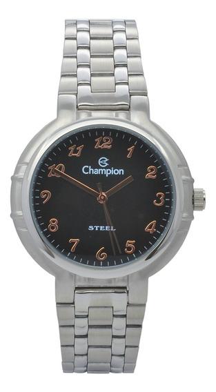 Relógio De Pulso Champion Masculino Ca20241t - Prata