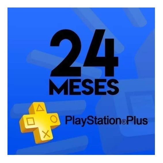 Cartão Playstation Psn Plus 24 Meses Ps3 Ps4 Jogue Online