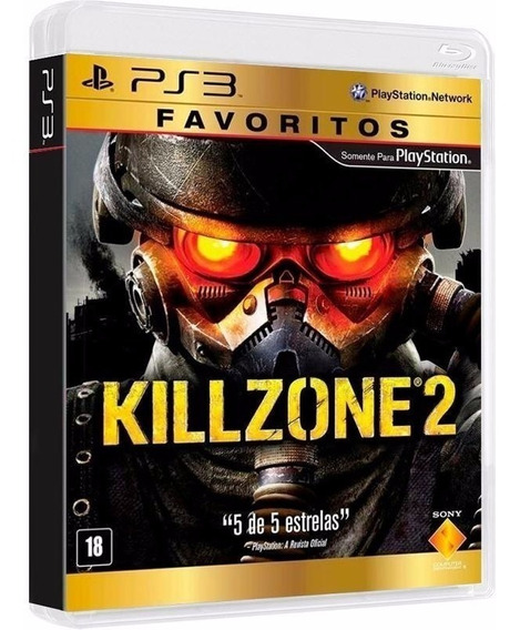 Killzone 2 - Midia Fisica Original E Lacrado - Ps3