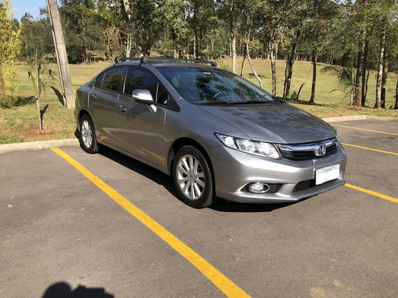 Honda Civic 2014 Lxr 2.0 Flex - Seminovo - Otimo Estado