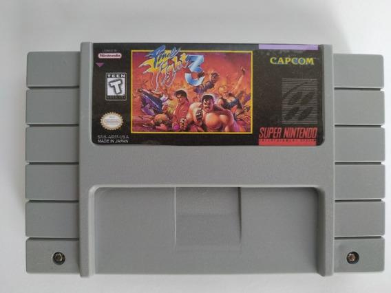 Final Fight 3 Super Nintendo Snes