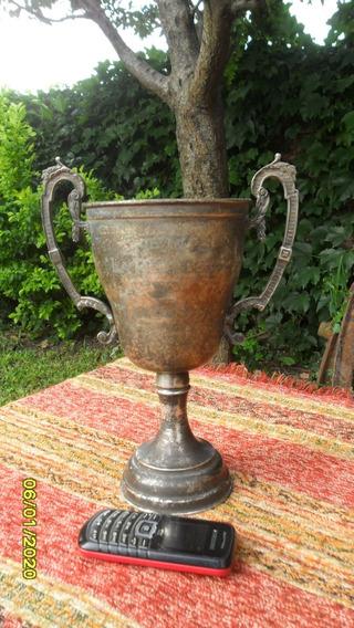 Antigua Copa Trofeo Resto Baño Plata 5to Premio 1955 La Perf
