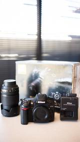 Nikon D7000 + Lente Do Kit
