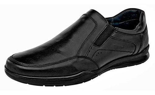 Merano Sneaker Casual Escolar Negro Piel Niño Bth45967