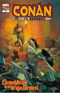 Conan El Bárbaro La Maldición De La Bruja Carmesí - Panini