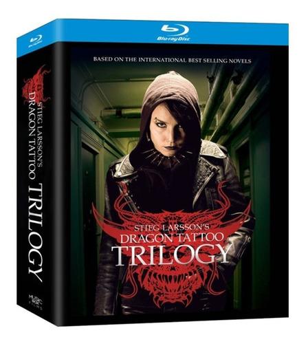 Millenium Trilogía Completa En Blu-ray