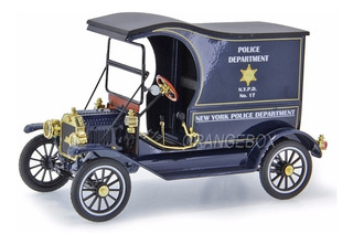 Ford Model T Cargo Paddy Wagon Depart. Policia Nypd 1/18