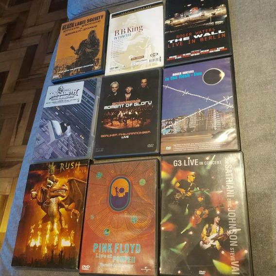 Super Lote 41 Dvds Rock, Hard & Heavy Originais Frete Único!