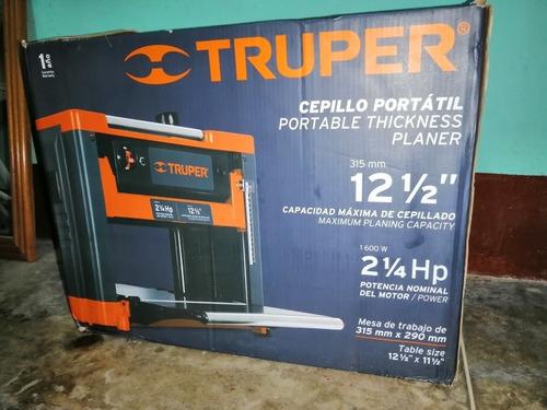 Cepilladora Truper De 12 Pulgadas Nueva!
