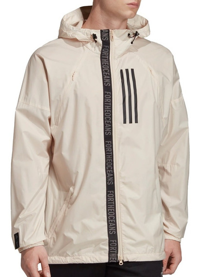 Chamarra Atletica W.n.d. Parley Hombre adidas Dx9290