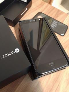 Moto Z Snapdragon 835 32gb Quadhd + Turbo Na Caixa 12x