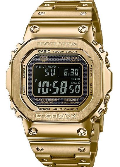 Relógio G-shock Gmw-b5000gd-9dr Tough Solar E Bluetooth +nfe