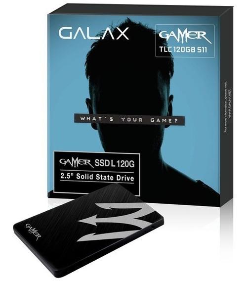 Ssd Gamer Galax Ls11 2.5´ 120gb Sata Iii 6.0gb/s