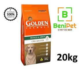 Ração Golden Cão Adulto Frango E Arroz 20kg
