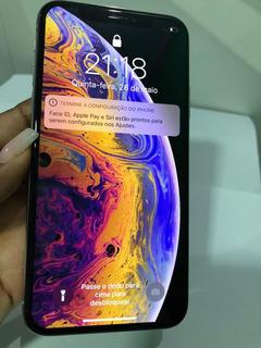 iPhone XS 64gb Silver Frete Grátis