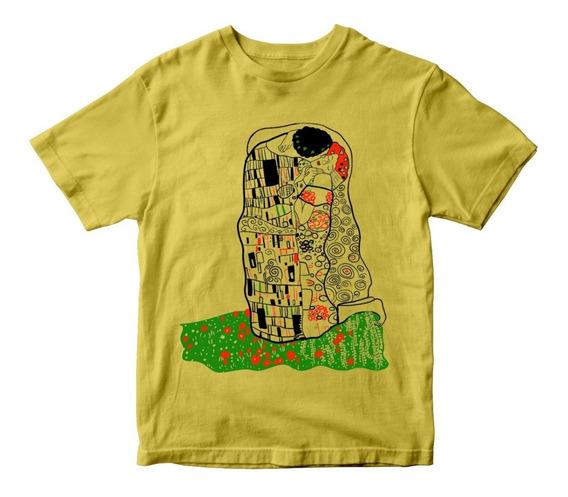 Nostalgia Shirts- El Beso (der Kuss) Gustav Klimt 1907-08