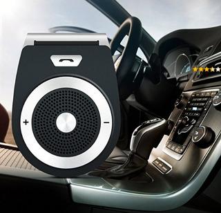 Manos Libres Bluetooth 3.0 Transmisor Y Receptor Para Autos