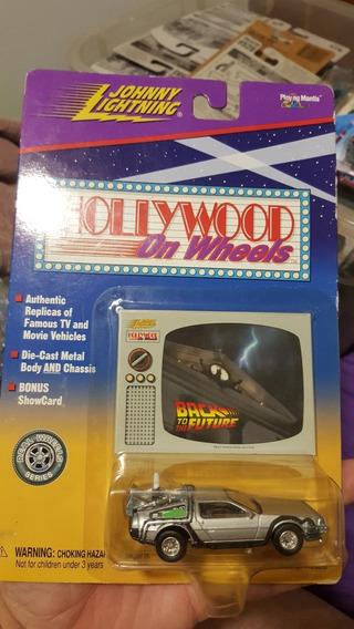 Toys Hollywood On Wheels Dmc Delorean Back To The Future