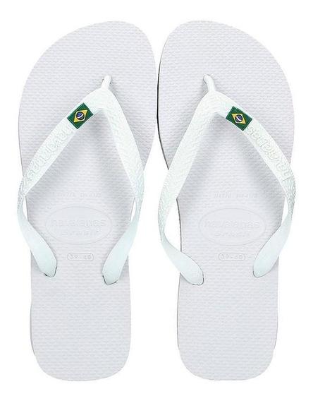 Havaianas Sandalias - Brasil Branco
