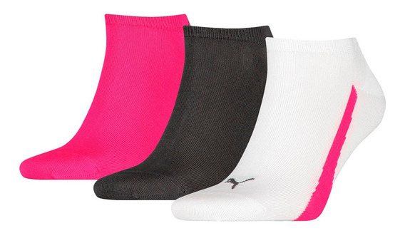 Medias Best Sox C Lifestyle Sneakers Px 3 Mujer Bl/fu