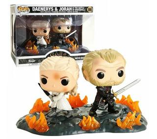 Funko Pop Daenerys And Jorah At The Battle Of Winterfell 86