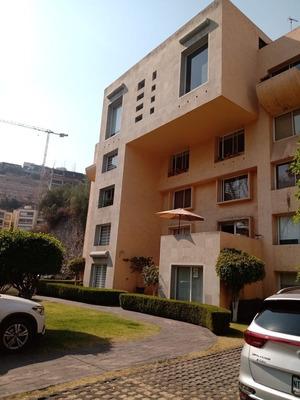 Departamento En Planta Baja, Condominio Cerrado Con Alberca