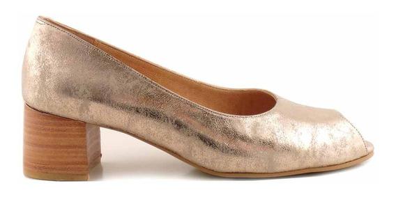 Zapatos Mujer Cuero Briganti Vestir Punta Taco Mccz33015