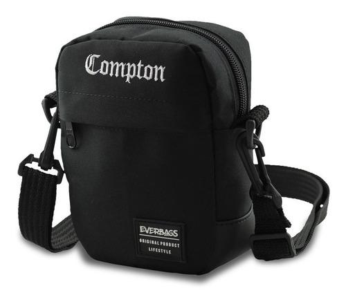 Imagem 1 de 6 de Bolsa Pochet Necessaire Shoulderbag Everbags Combate Compton