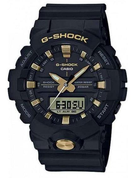 Relógio G-shock Ga-810b-1a9dr Preto/dourado