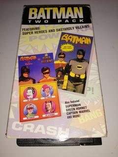 Batman Two Pack Vhs Joker Dc Supervillanos Superheroes