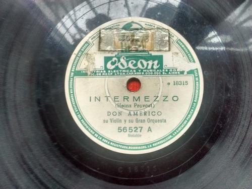 Don Americo Disco Pasta Odeon 56527 C1