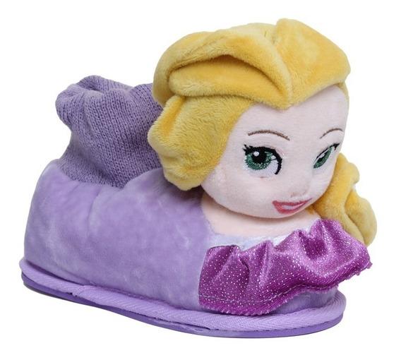 Pantuflas Addnice Disney Princesa Frozen Elsa Rapunzel
