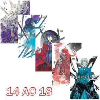 Pandora Hearts 14 Ao 18! Mangá Panini! Novo E Lacrado!