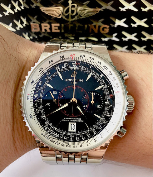Breitling Navitimer Montbrillant Legend 46mm Todo Aço !