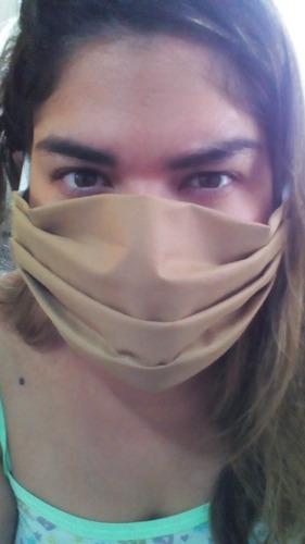 Kit 6 Máscaras Descartável Tnt 80 Gr Dupla Com Elástico