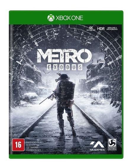 Jogo Metro Exodus - Xbox One - Novo - Mídia Fisica - Lacrado